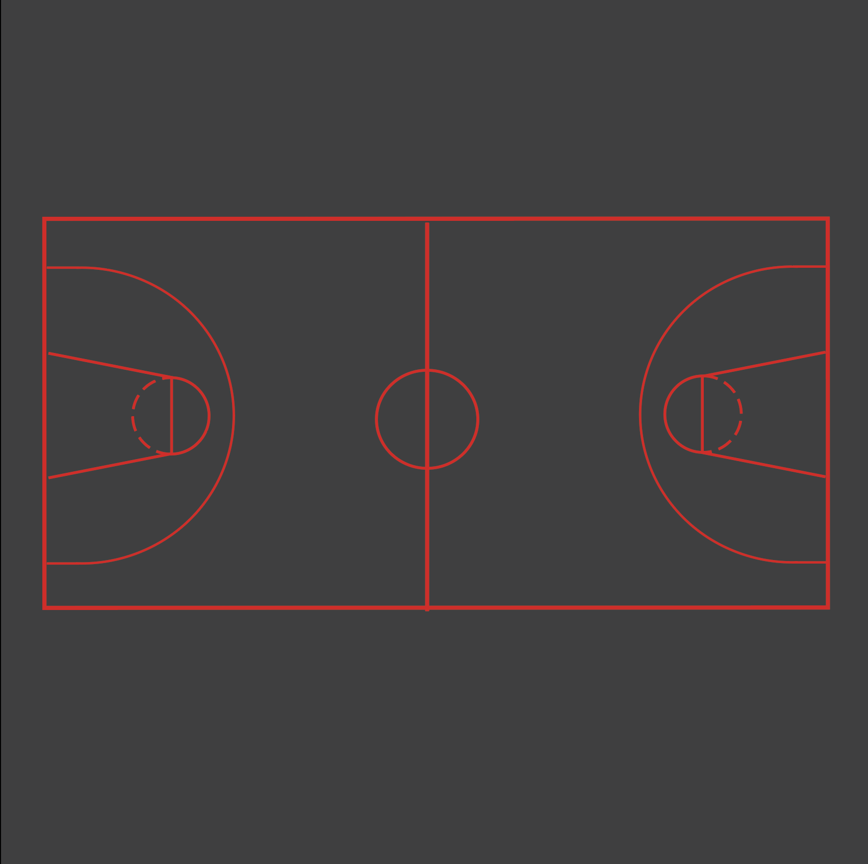 Image of a Basketball Court Playground Marking