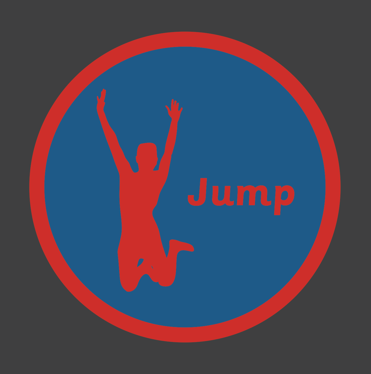 An image of a Jump Solid Active Spot Playground Marking