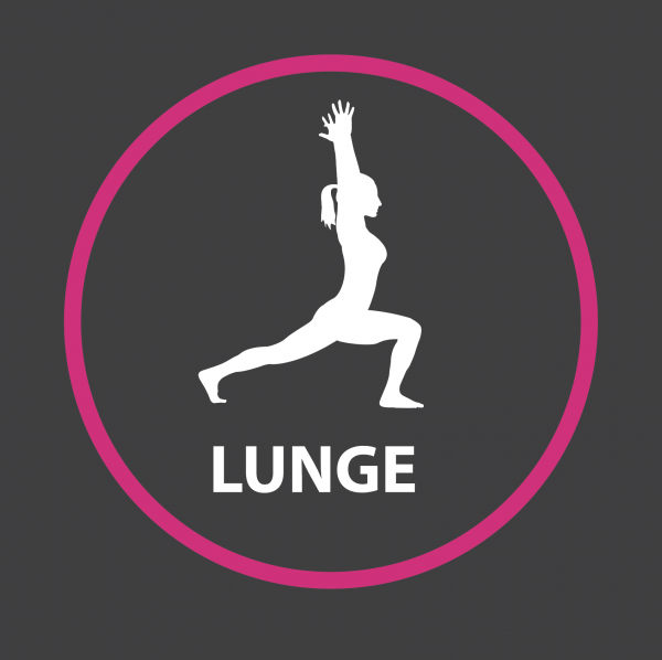 An image of a Lunge Outline Active Spot Playground Marking