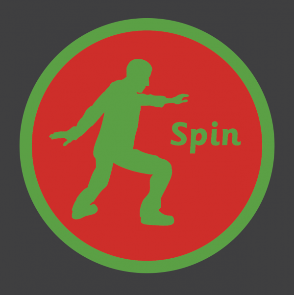 An image of a Spin Solid Active Spot Playground Marking